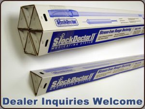 Unique, robust packaging of the StockDoctor II™